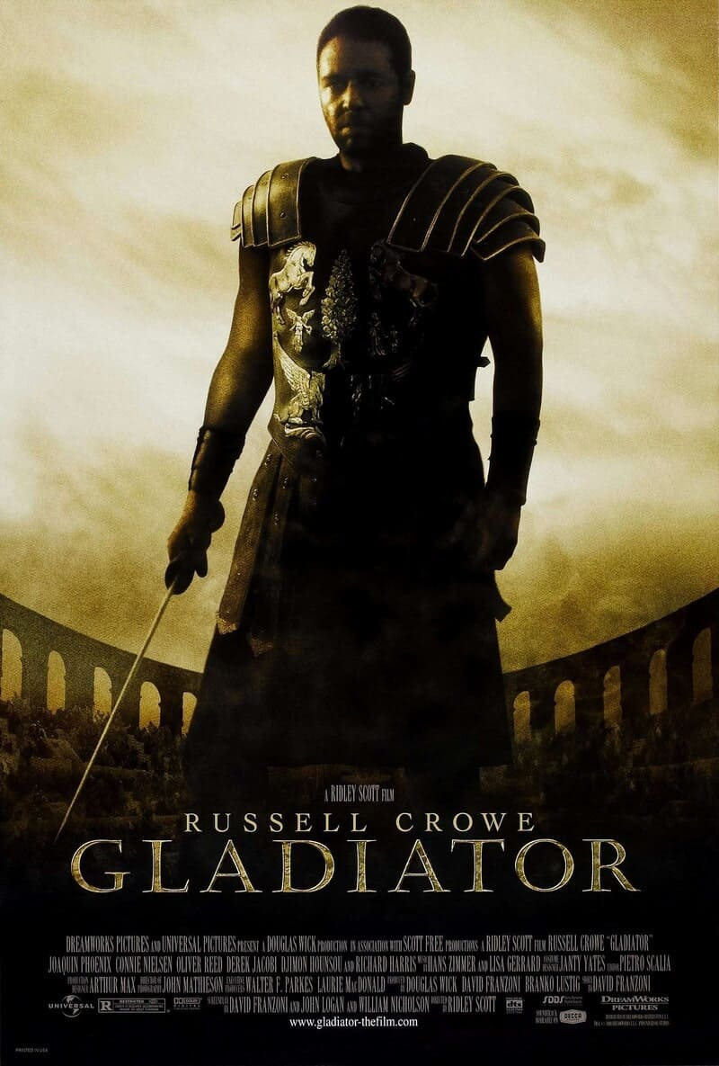 bộ phim kinh điển gladiator