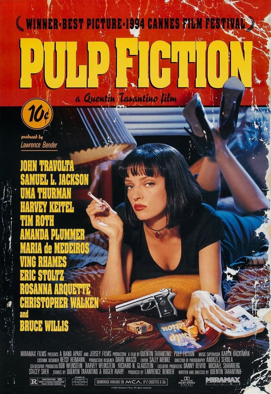 bộ phim kinh điển pulp fiction