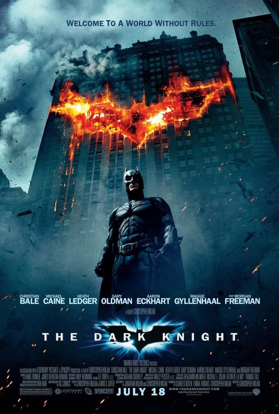 bộ phim kinh điển the dark knight
