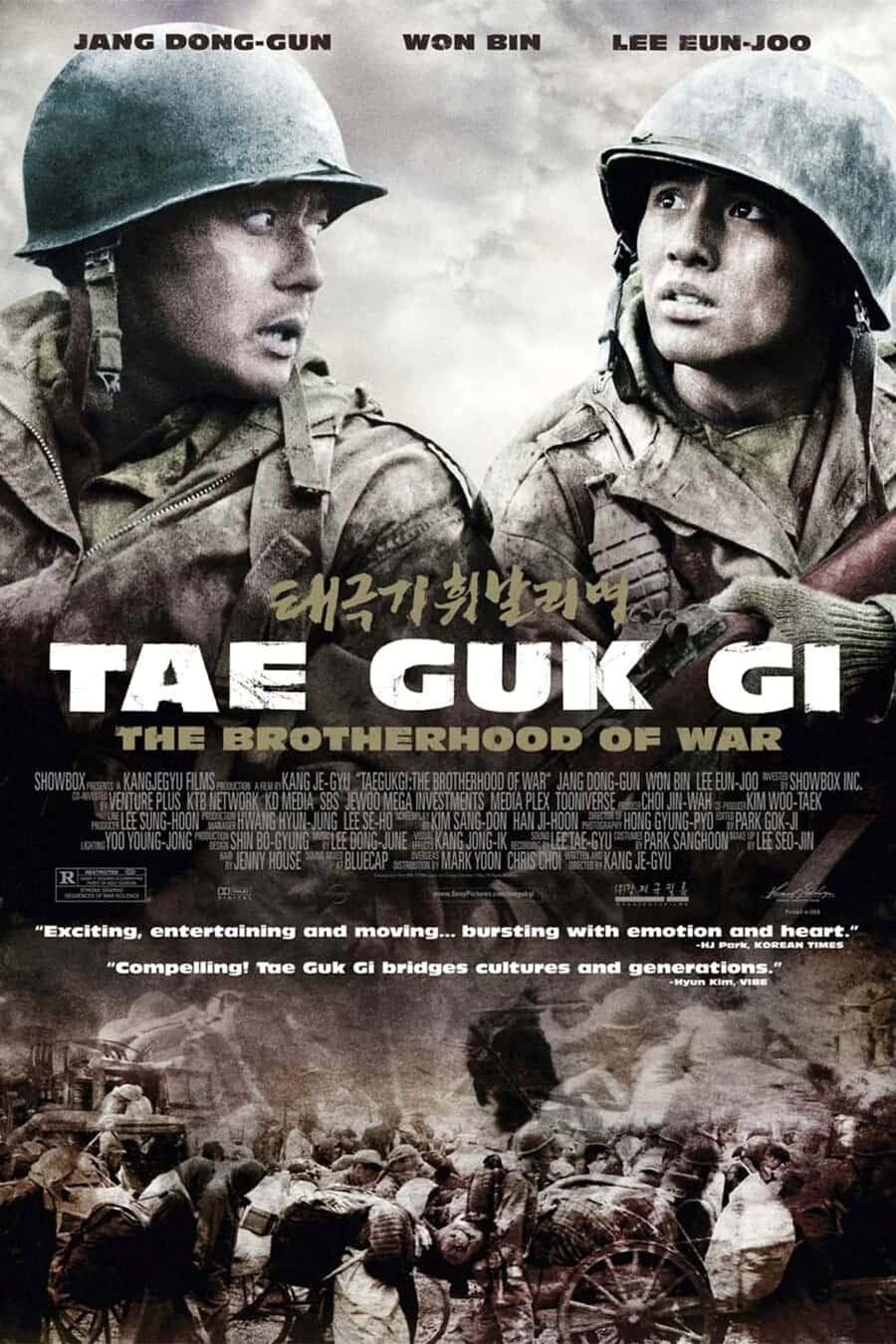 bộ phim tae guk the brotherhood of war