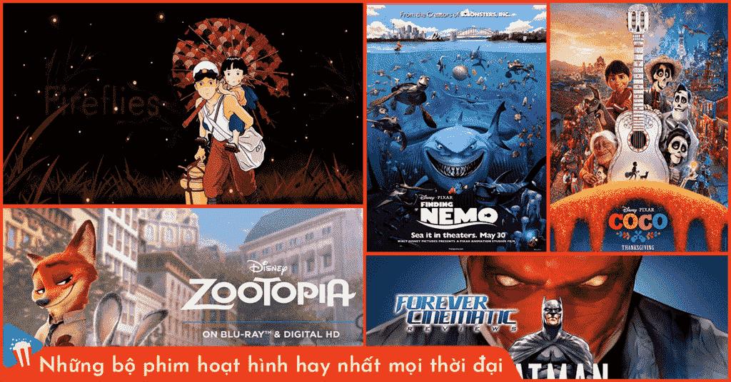 những bộ phim hoạt hình hay nhất mọi thời đại