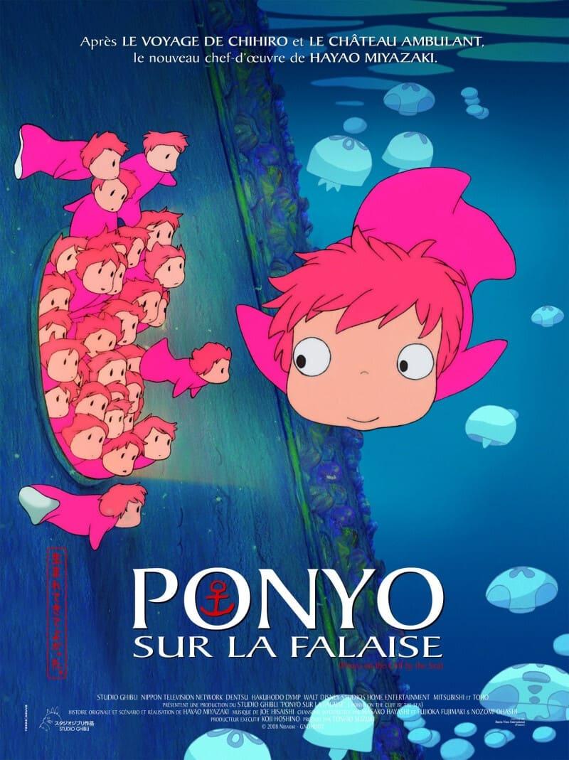 phim anime cô bé người cá ponyo