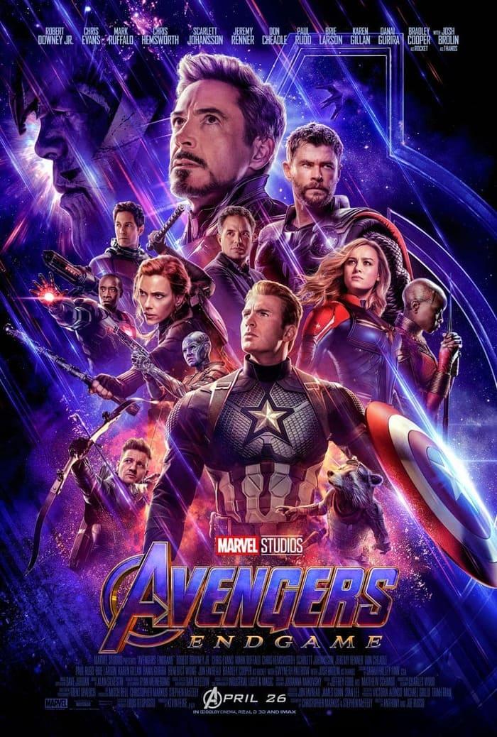 phim biệt đội siêu anh hùng avengers endgame
