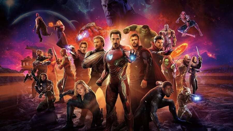 biệt đội siêu anh hùng cuộc chiến vô cực