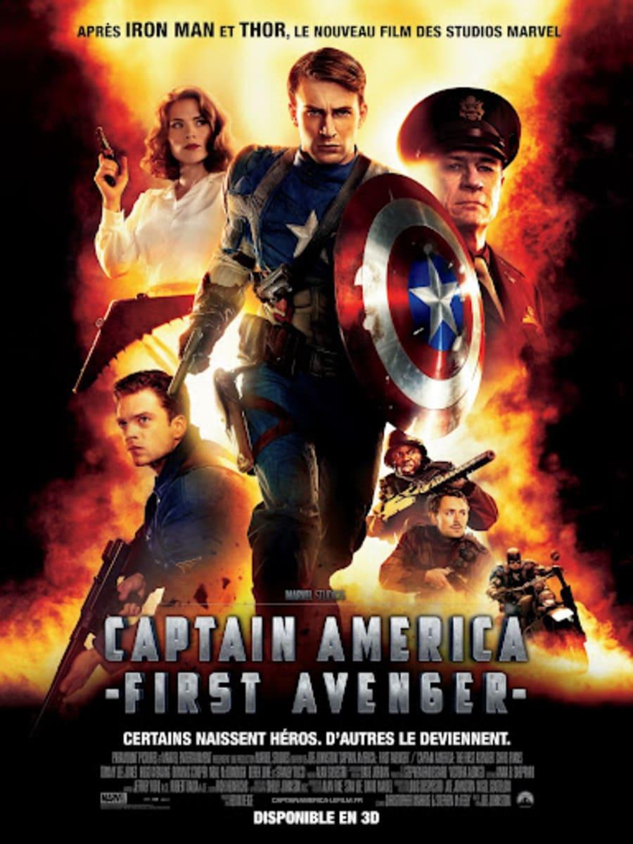 phim captain america kẻ báo thù đầu tiên