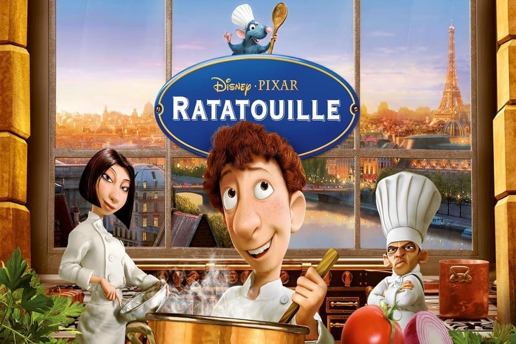 phim hoạt hình chiếu rạp hay chú đầu bếp