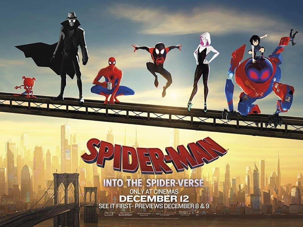 mới phim người nhện vũ trụ