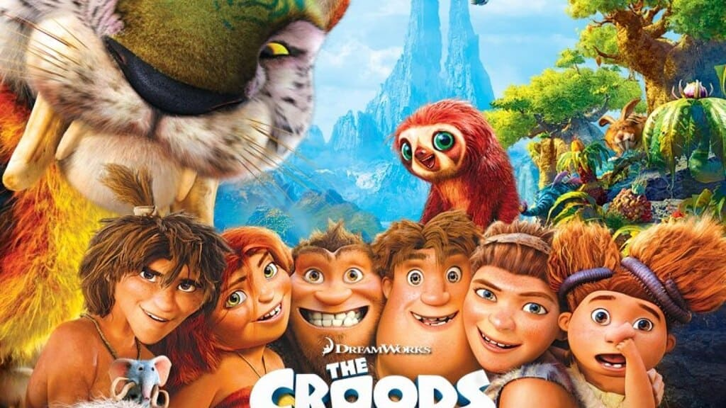 phim hoạt hình gia đình crood