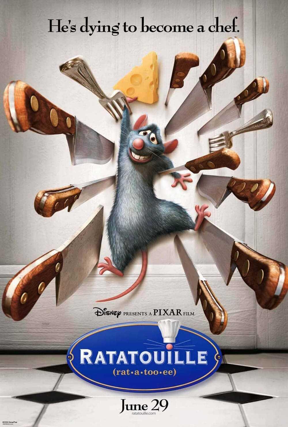 phim hoạt hình hay nhất chú chuột đầu bếp