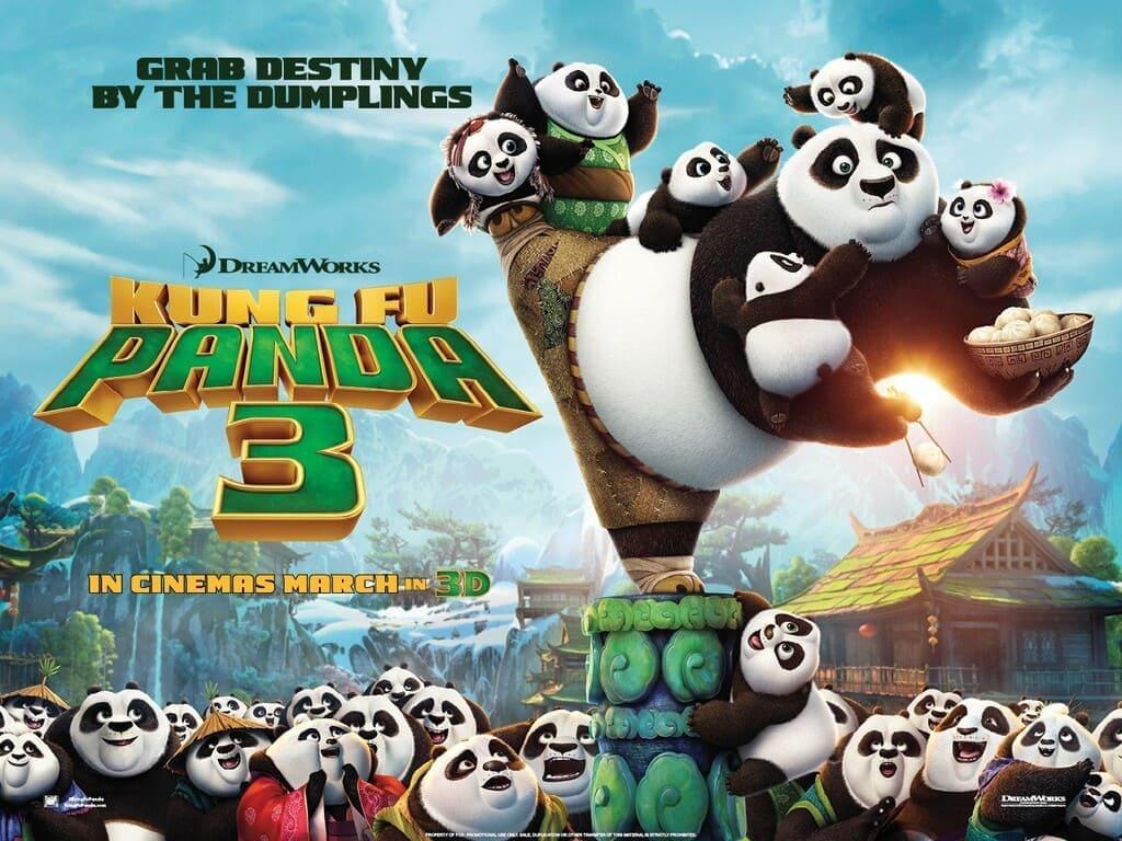 phim hoạt hình kungfu panda 3