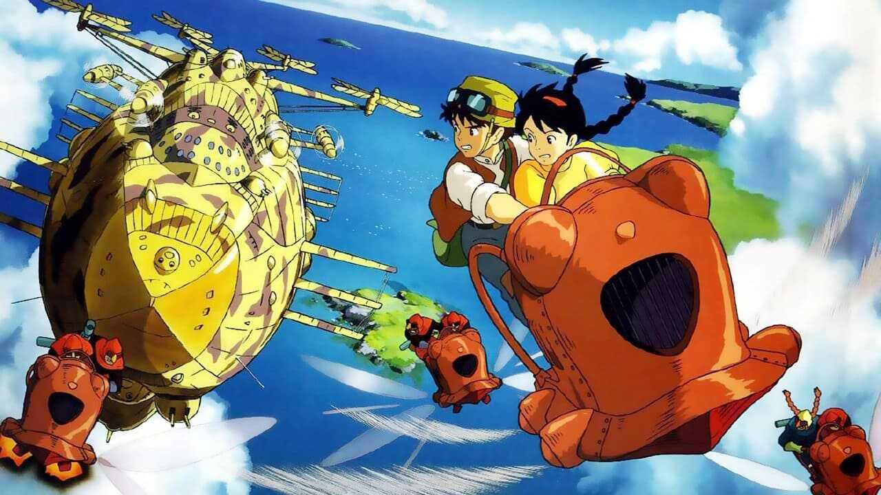 phim hoạt hình laputa lâu đài trên không