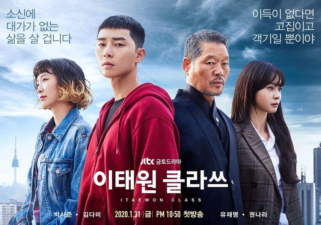 phim ngôn tình tầng lớp itaewon
