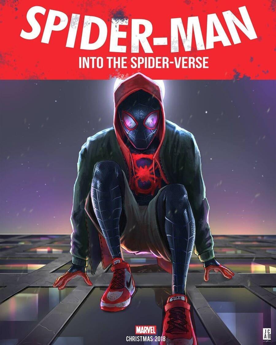 phim người nhện vũ trụ mới