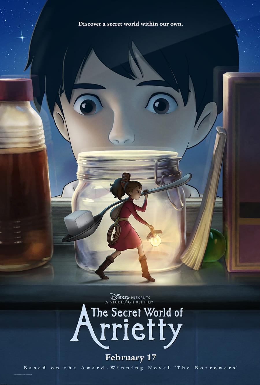 phim thế giới bí mật của arriety