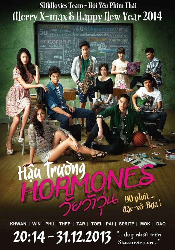 phim tuổi nổi loạn hormones 2013