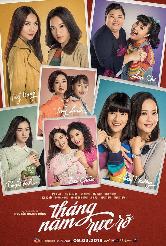 phim việt nam chiếu rạp 2018 tháng năm rực rỡ