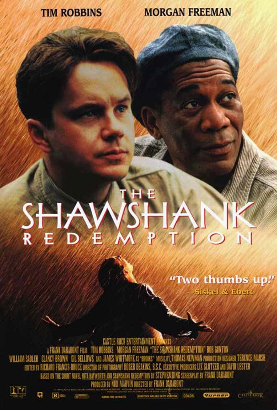 poster phim kinh điển của thế giới the shawshank redemption