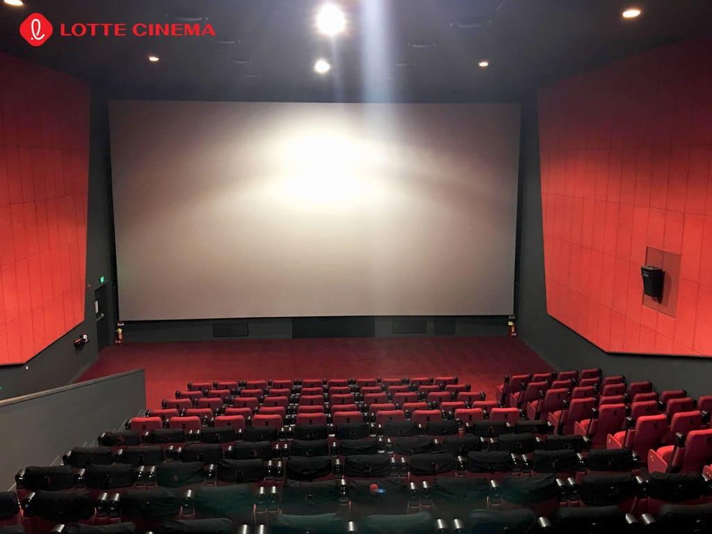 chất lượng âm thanh hình ảnh tại lotte cinema minh khai