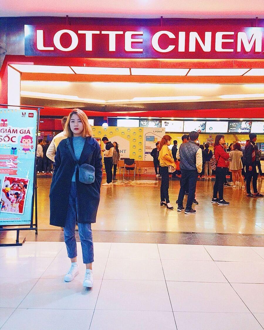 check in lotte cinema hà đông