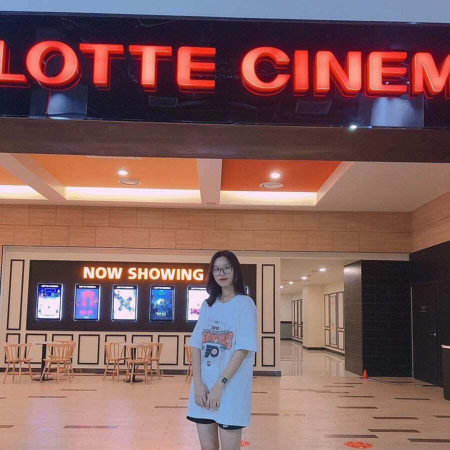 check in lotte cinema nam định