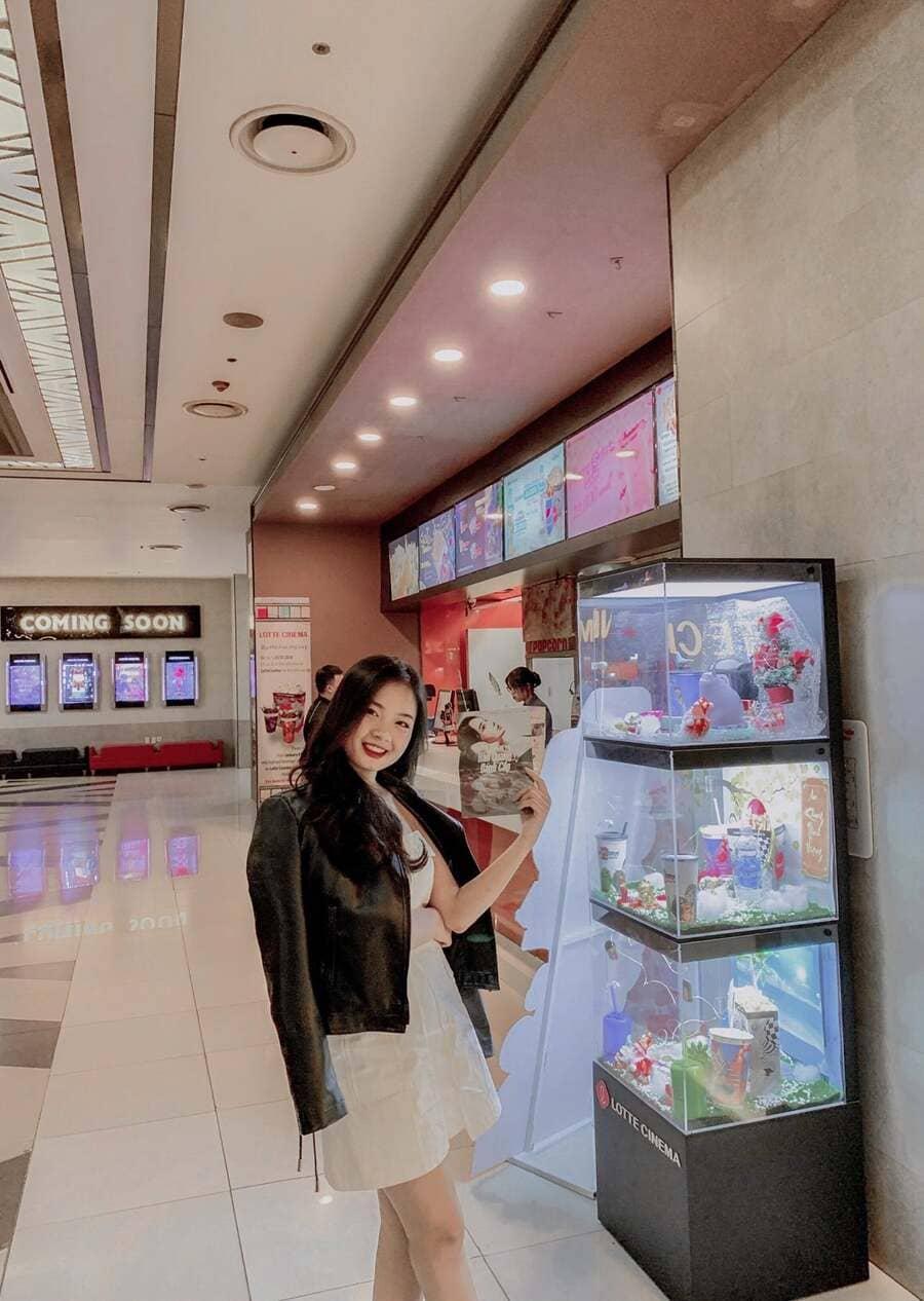 check in rạp lotte cinema keangnam
