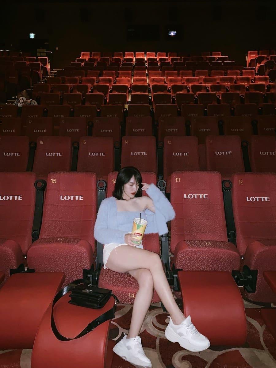 check in tại rạp lotte cinema keangnam