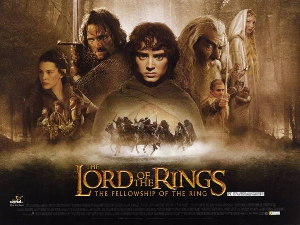 phim chúa tể của những chiếc nhẫn