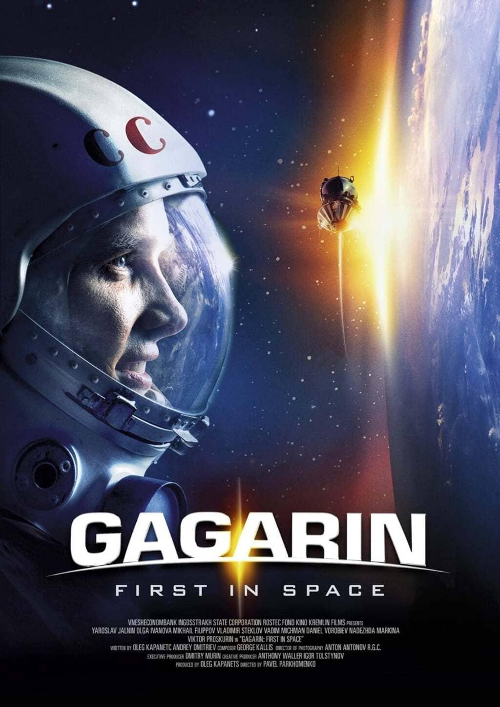 phim gagarin người đầu tiên đi vào vũ trụ