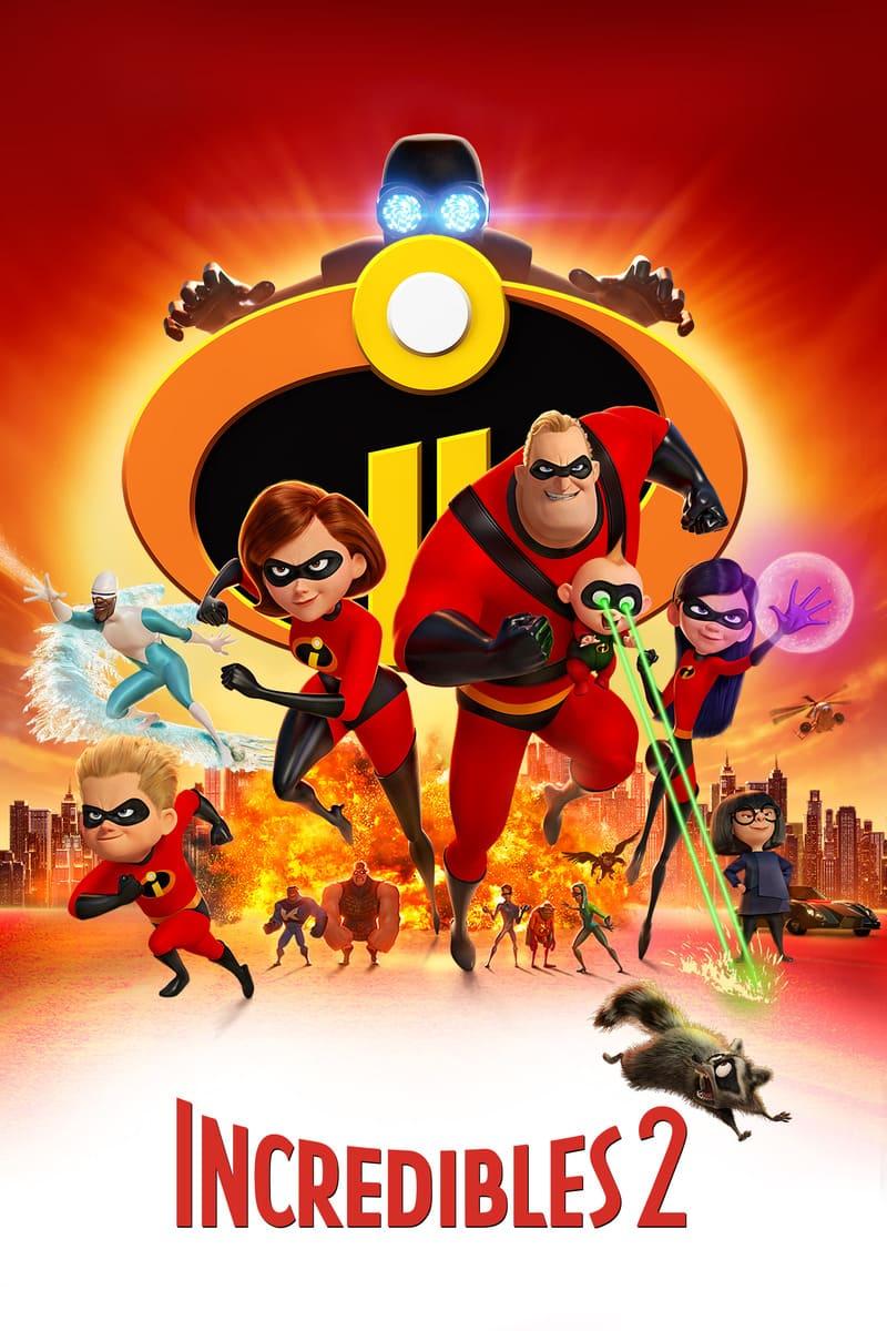 phim hoạt hình chiếu rạp của disney gia đình siêu nhân 2