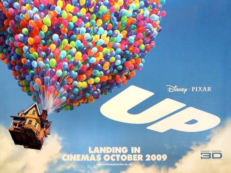 phim hoạt hình chiếu rạp của disney up vút bay