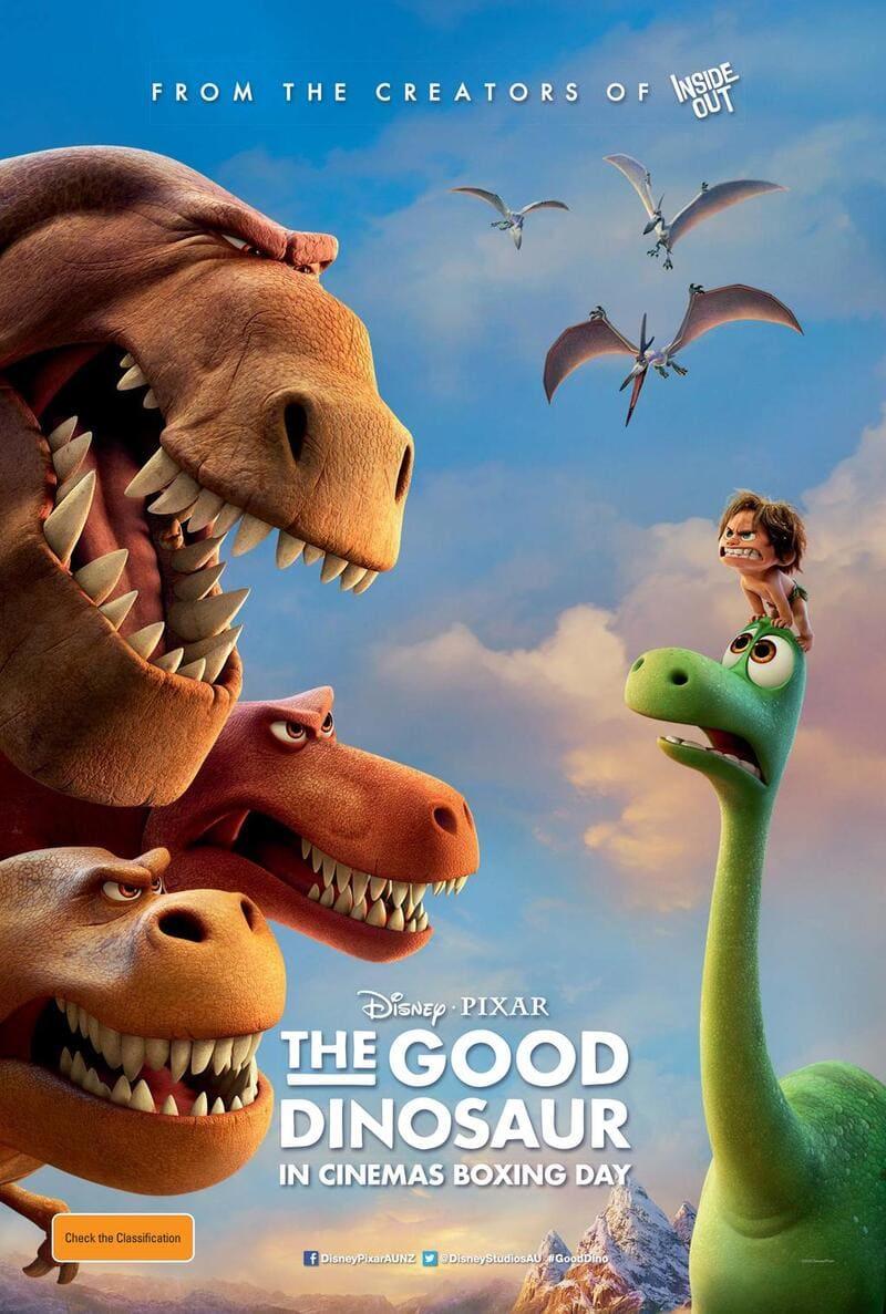 phim hoạt hình chú khủng long tốt bụng