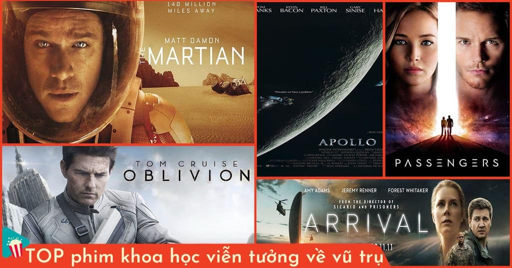 phim khoa học viễn tưởng về vũ trụ