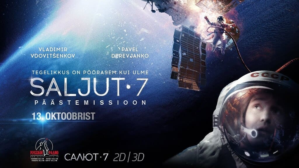 phim sự cố trạm salyut 7