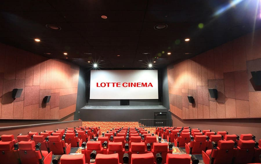 phòng chiếu lotte cinema