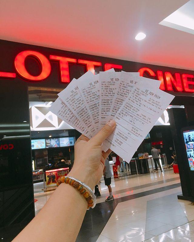 vé xem phim lotte cinema hải phòng