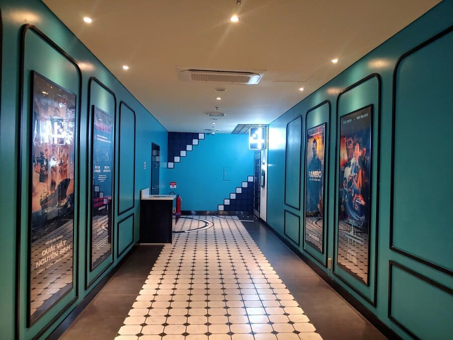không gian check in lotte cinema bắc ninh