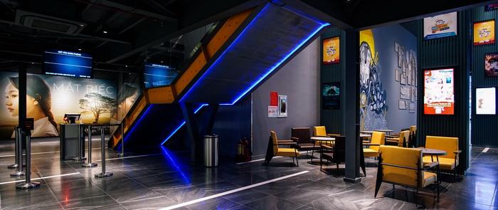 không gian rạp galaxy cinema