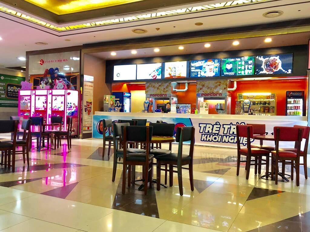 sảnh chờ lotte cinema keangnam
